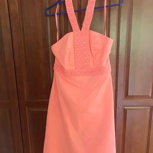 Merona Halter Dress - Peach